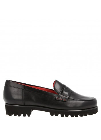 Penny loafer in smooth leather