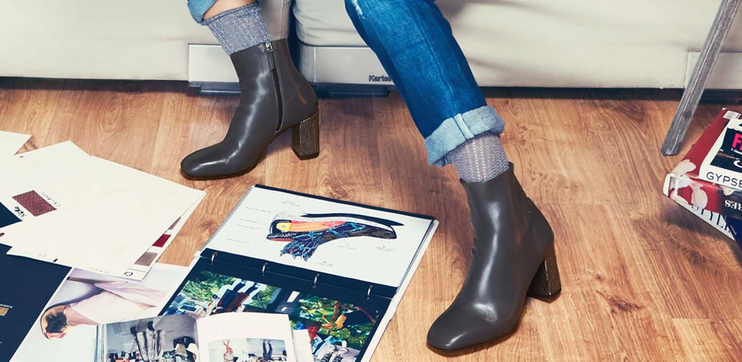 Artisanal ankle boots: fall winter creations